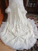 1565. Retro svad. šaty, 36