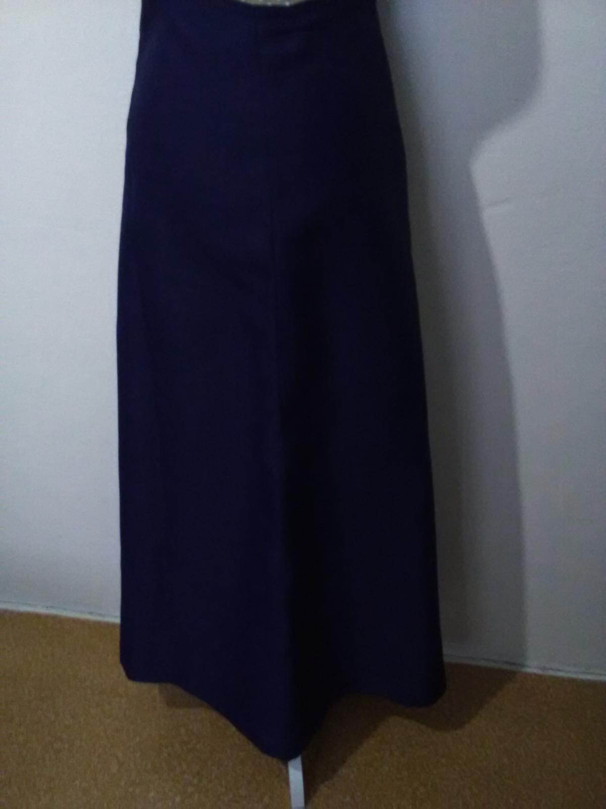 130. Dlhá sukňa spoločenská - Obrázok č. 1