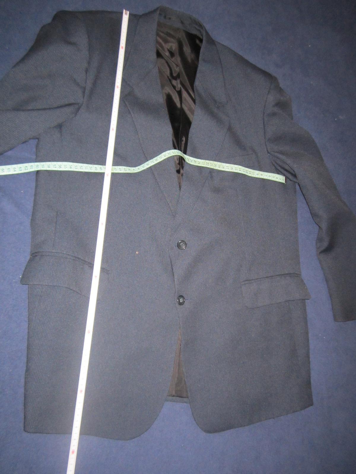 1606. Tm. modrý oblek - Obrázok č. 2
