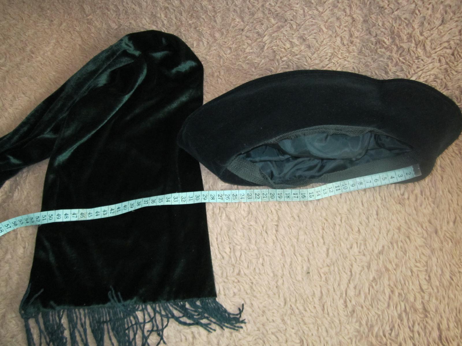 1609. klobúk a šál - Obrázok č. 3