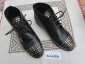 2131. Čierna obuv, 38