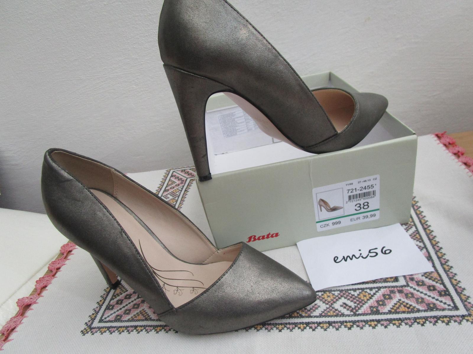 2135. Elegantné topánky - Obrázok č. 1
