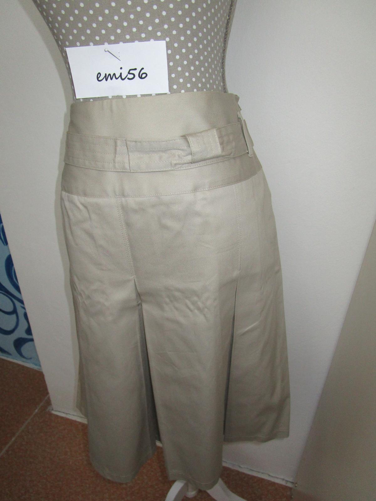 2143. Sv. hnedá sukňa - Obrázok č. 1