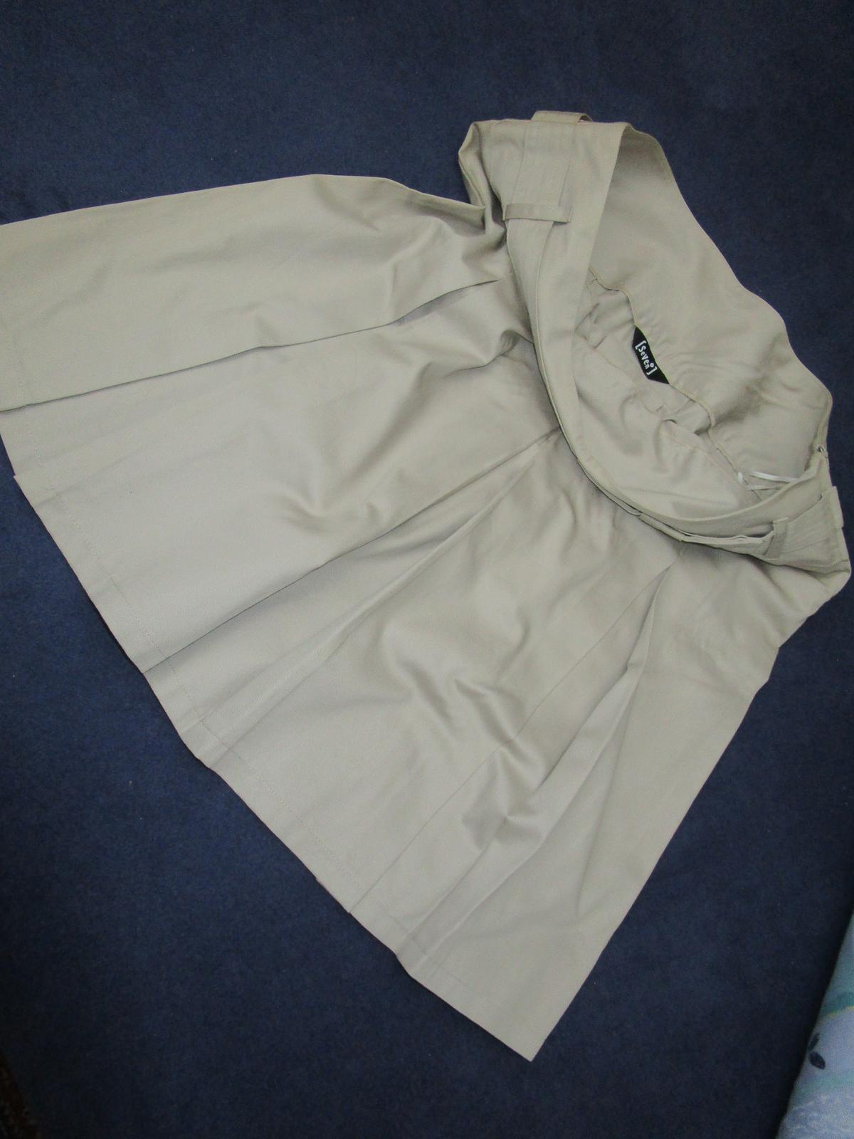 2143. Sv. hnedá sukňa - Obrázok č. 2