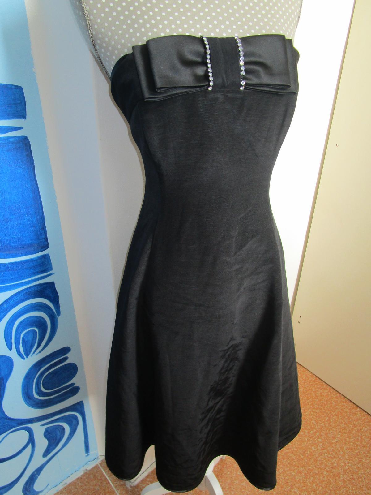 2562. čierne spol. šaty - Obrázok č. 1