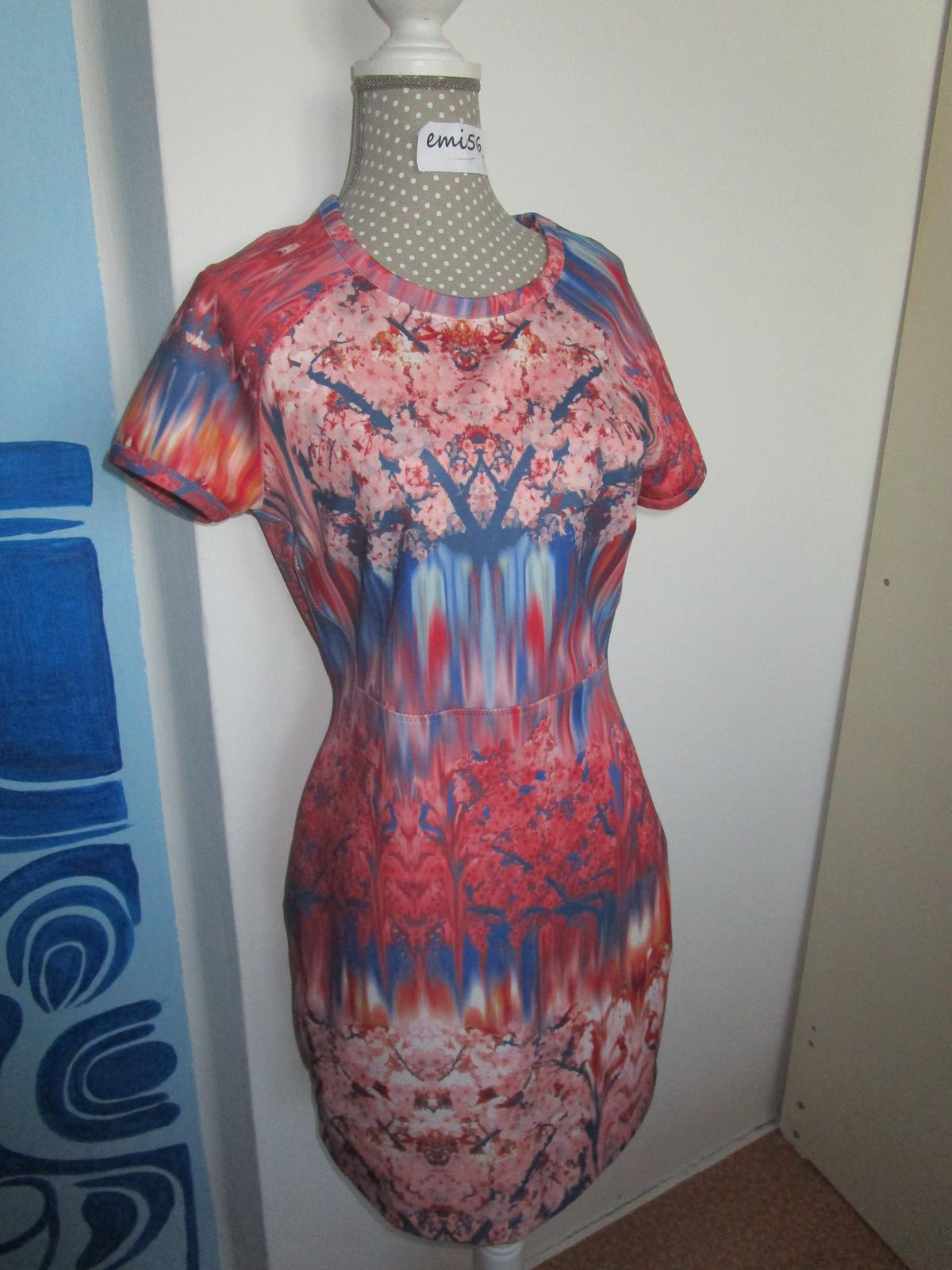2677. ZARA šaty - Obrázok č. 1