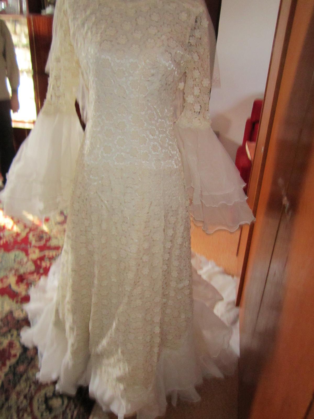 Svadobné šaty - retro - Obrázok č. 1