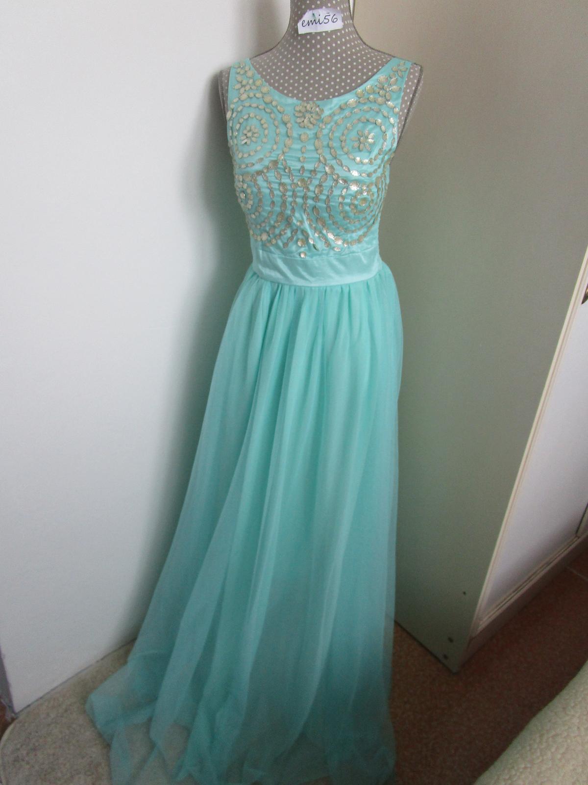 2856. Spoločenské šaty - Obrázok č. 1