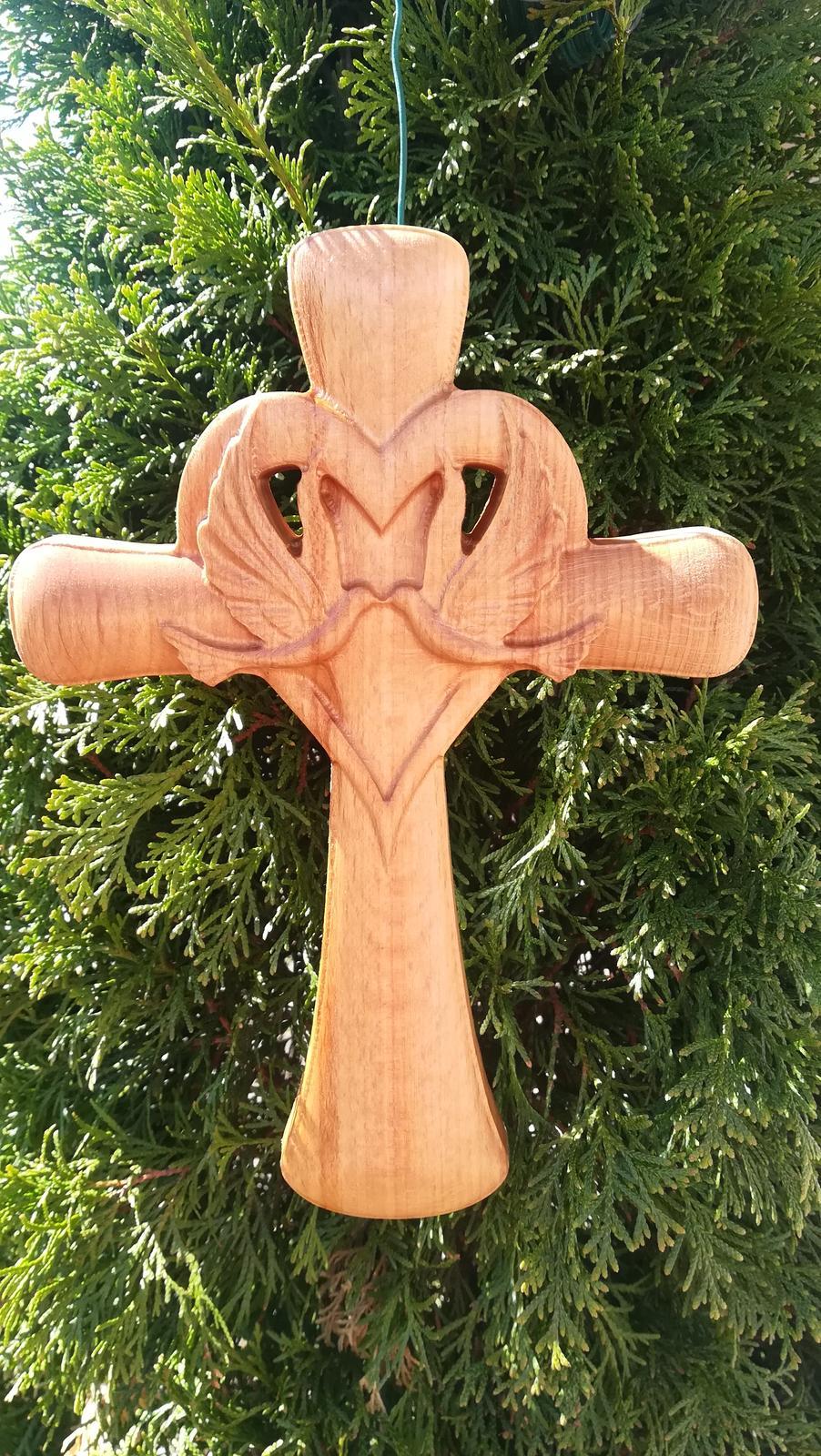 Handmade svadobný krížik - Obrázok č. 1