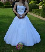 krajkované svatební šaty vel9, 36-44, 36