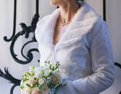 Svatební kabátek - bolerko vel. 38-40,