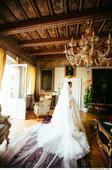 luxusní exklusivní svatební šaty z Ameriky - DEVEN, 36