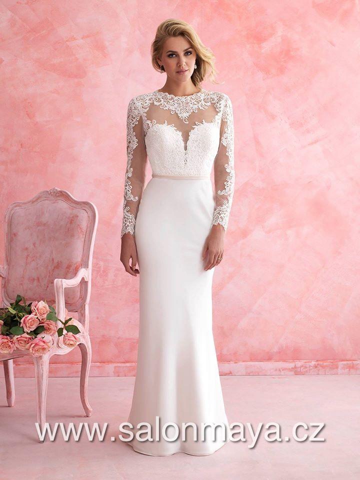 22a2aa717c2 Krajkové šaty na míru - - Svatební šaty