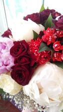 Svatební kytice na druhý den.. Stále krásná
