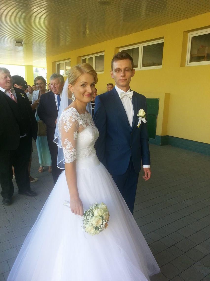 Veronika{{_AND_}}Pavol - s mojim manželom....pred vstupom do saly