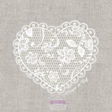 Papírové ubrousky Lace With Love-COUTRYSTYLE