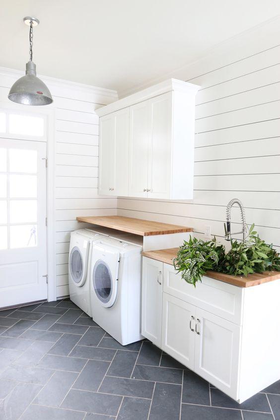 Inspirace bydlení - můj sen malá a útulná prádelna