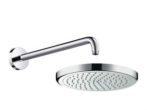 Hansgrohe Croma 220 - Hlavová sprcha s připojením, 1jet chrom