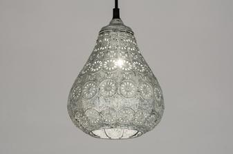 Závěsné orientální svítidlo Moabe Antique