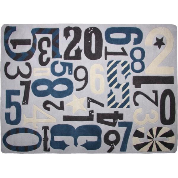 Co se mi líbí - Dětský koberec Imprenta, 130x180 cm