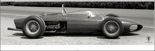 Inspirace dětské pokojíčky - Reprodukce Ferrari F1 Vintage - Sharknose