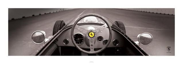 Reprodukce Ferrari F1 Vintage - Quarter