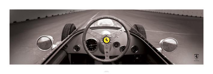 Inspirace dětské pokojíčky - Reprodukce Ferrari F1 Vintage - Quarter
