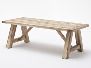 nejlepsi-nabytek.cz - Jídelní stůl BRISTOL dub přírodní masiv - Velikost stolu 260x100