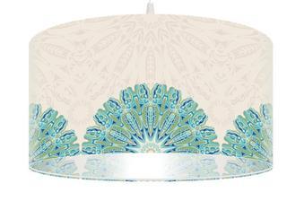 Svítidlo Ethno Blue Mandals závěsné-http://homedesign-shop.com/