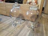 Fľaše na limonády s kohútikom 2 x 6.5l litra,