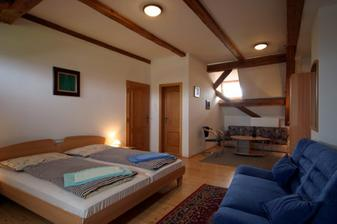 Takovehle pokoje mame rezervovane pro hosty