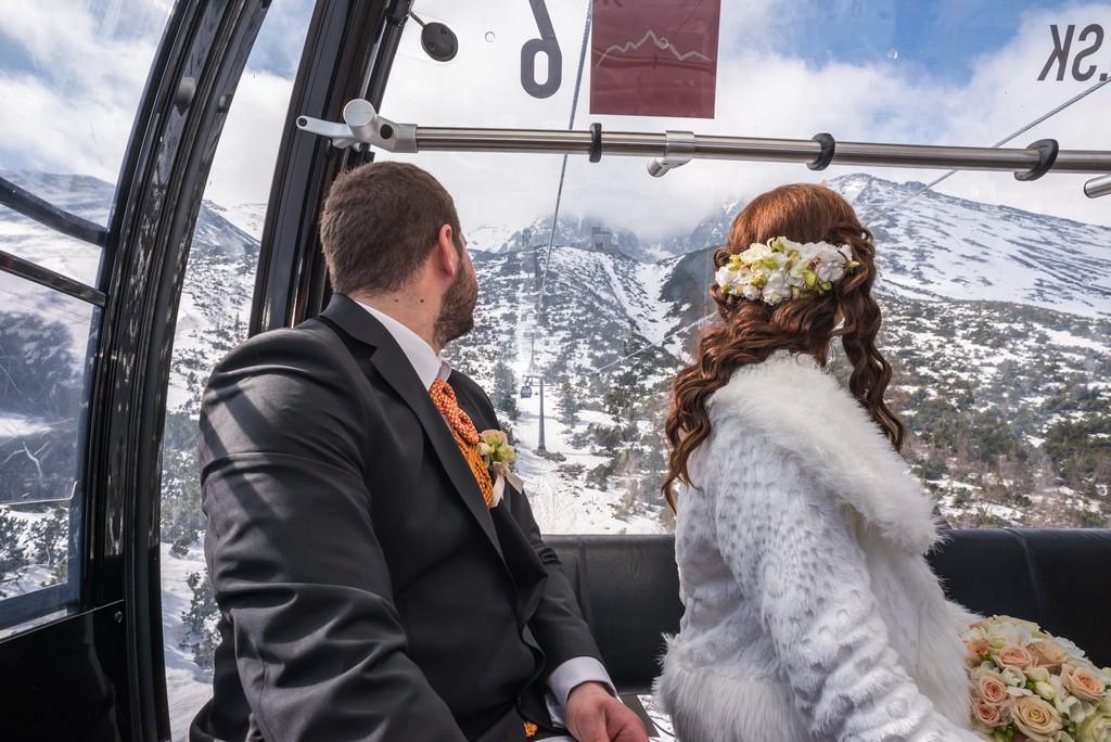 Zimná svadba keď je... - Obrázok č. 2