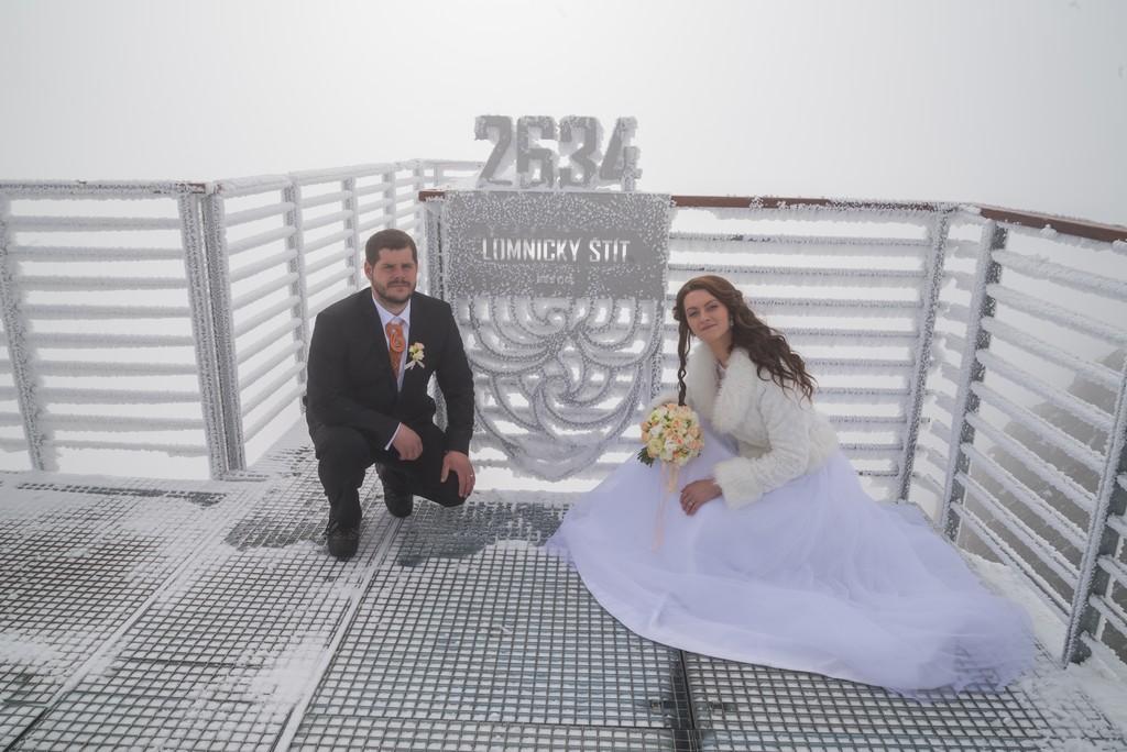 Zimná svadba keď je... - Obrázok č. 3