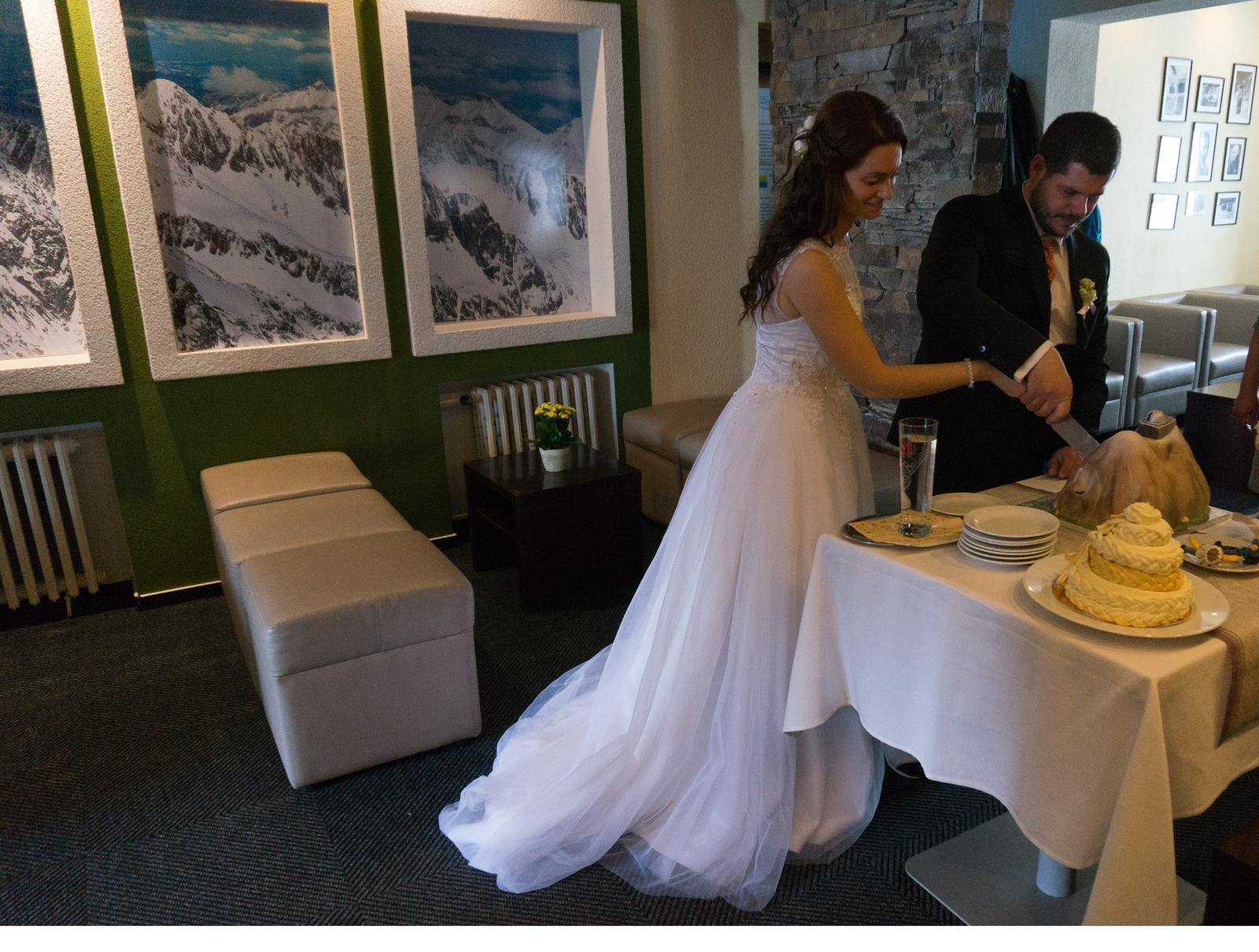 Zimná svadba keď je... - Obrázok č. 4