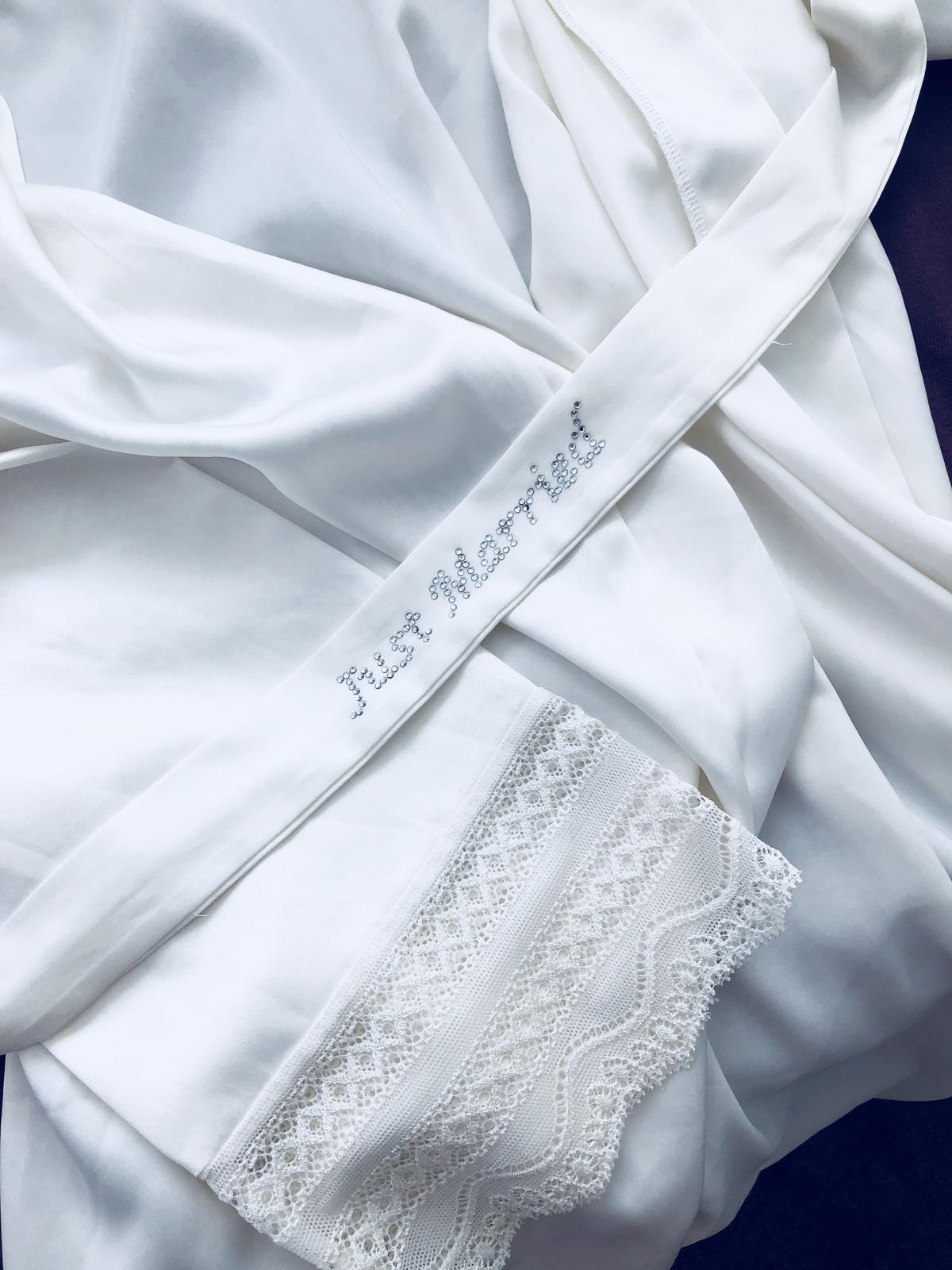 Moje sny ... - Svadobné kimono na ranné prípravy 🧚🏼♀️👸🏻