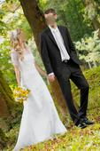"Čipkované svadobné šaty jednoduché ""vintage"" 34-36, 35"