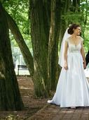 exkluzívne svadobné šaty, 36-38, , 36