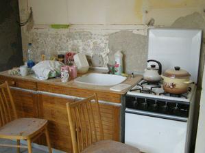 Stara kuchyňa-hrozne niečo