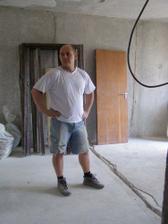 A takto vyzerá oškrabaná obývačka