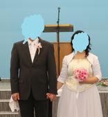 Svadobný komplet - korzet, sukňa, bolerko, 40