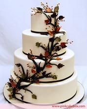 podzimní dort
