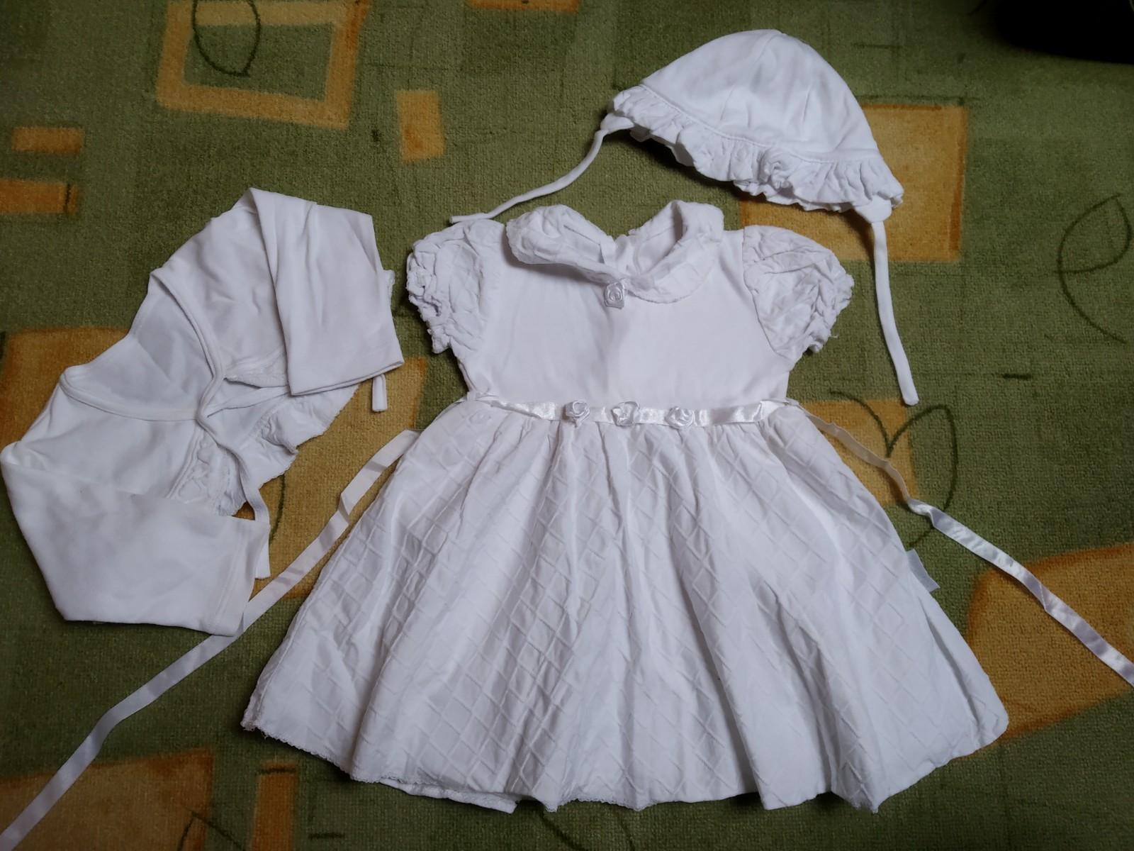 Šaty pro družičku, vel. 80  - Obrázek č. 1