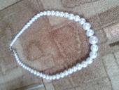 Náhrdelník perlový délka 50 cm,