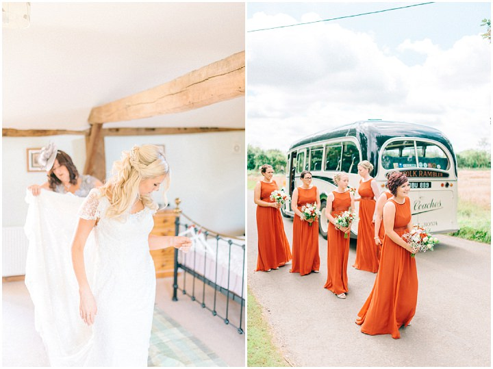 Rustikálna oranžová svadba v stodole - Obrázok č. 4