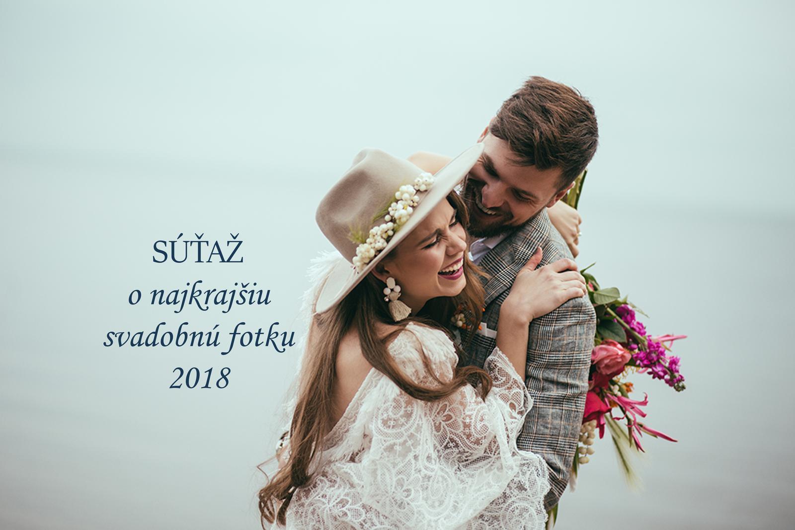Minuloročné nevesty, dúfam, že ste ešte tu :) Práve sme spustili Súťaž o najkrajšiu svadobnú fotku roku 2018: https://www.mojasvadba.sk/forum/mojasvadba-sk/sutaz-hladame-najkrajsiu-svadobnu-fotku-roka-2018-na-www-mojasvadba-sk/?lastref=hp&post=last&page=last  Zapojíte sa do súťaže aj vy? Mohli by sme si minuloročnú skvelú svadobnú sezónu ešte poslednýkrát zrekapitulovať, pripomenúť si tie nádherné svadobné okamihy, ktoré ste prežili a ako bonus 3 z vás môžu získať malé ceny :) - Obrázok č. 1