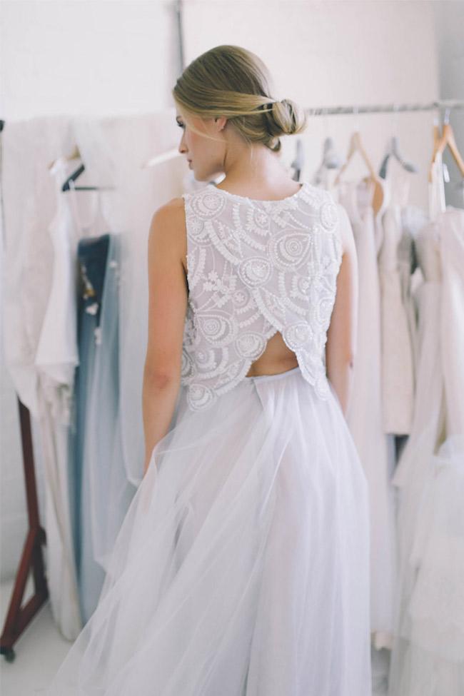 Dvojdielne svadobné šaty - Obrázok č. 2