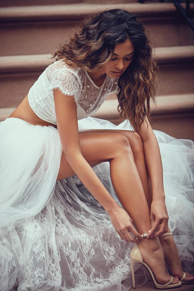 Dvojdielne svadobné šaty - Obrázok č. 7
