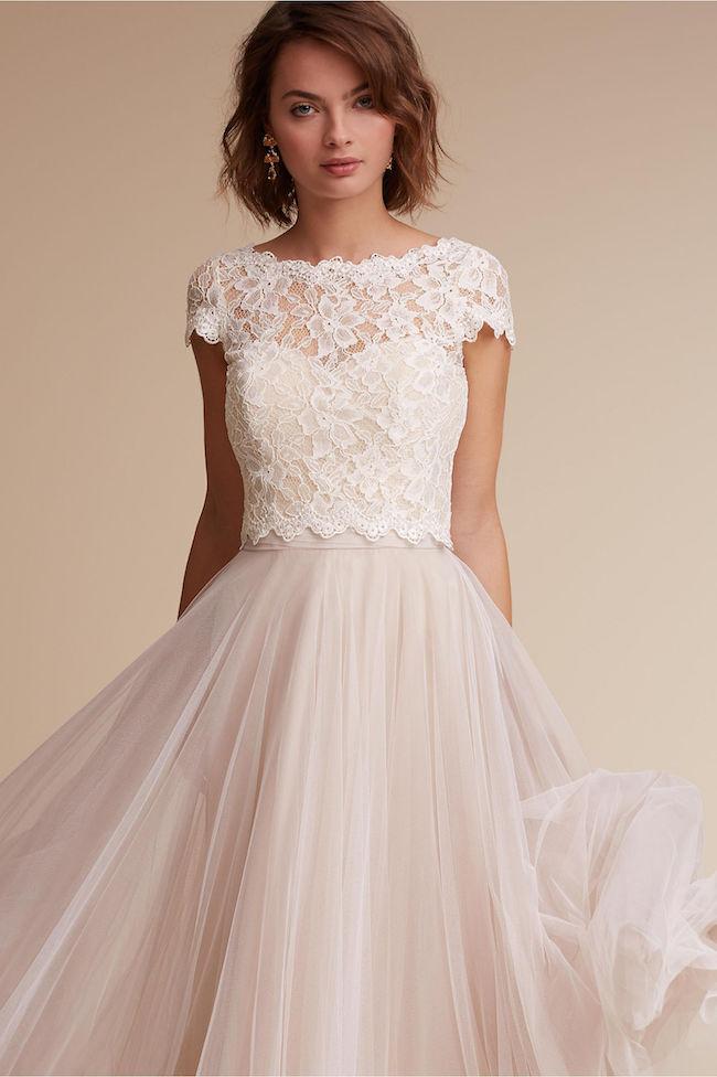 Dvojdielne svadobné šaty - Obrázok č. 8