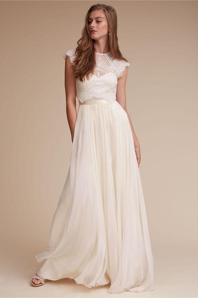 Dvojdielne svadobné šaty - Obrázok č. 9