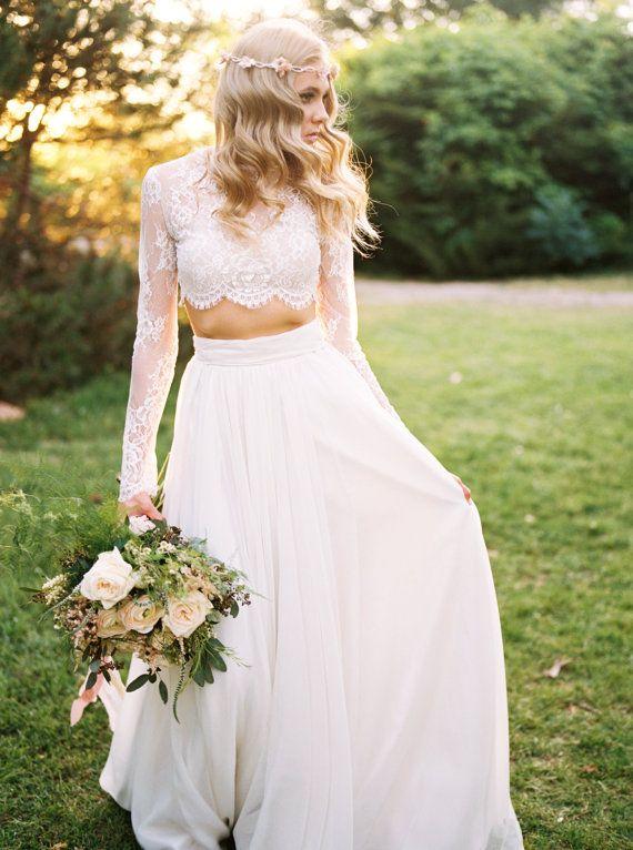Dvojdielne svadobné šaty - Obrázok č. 10